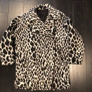 Amazing Animal Print Coat